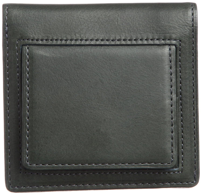 [スィンリー] THINly 財布 小銭入れ メンズ 二つ折り 薄型 日本製 B00ES5BHN2 ダークグリーン ダークグリーン