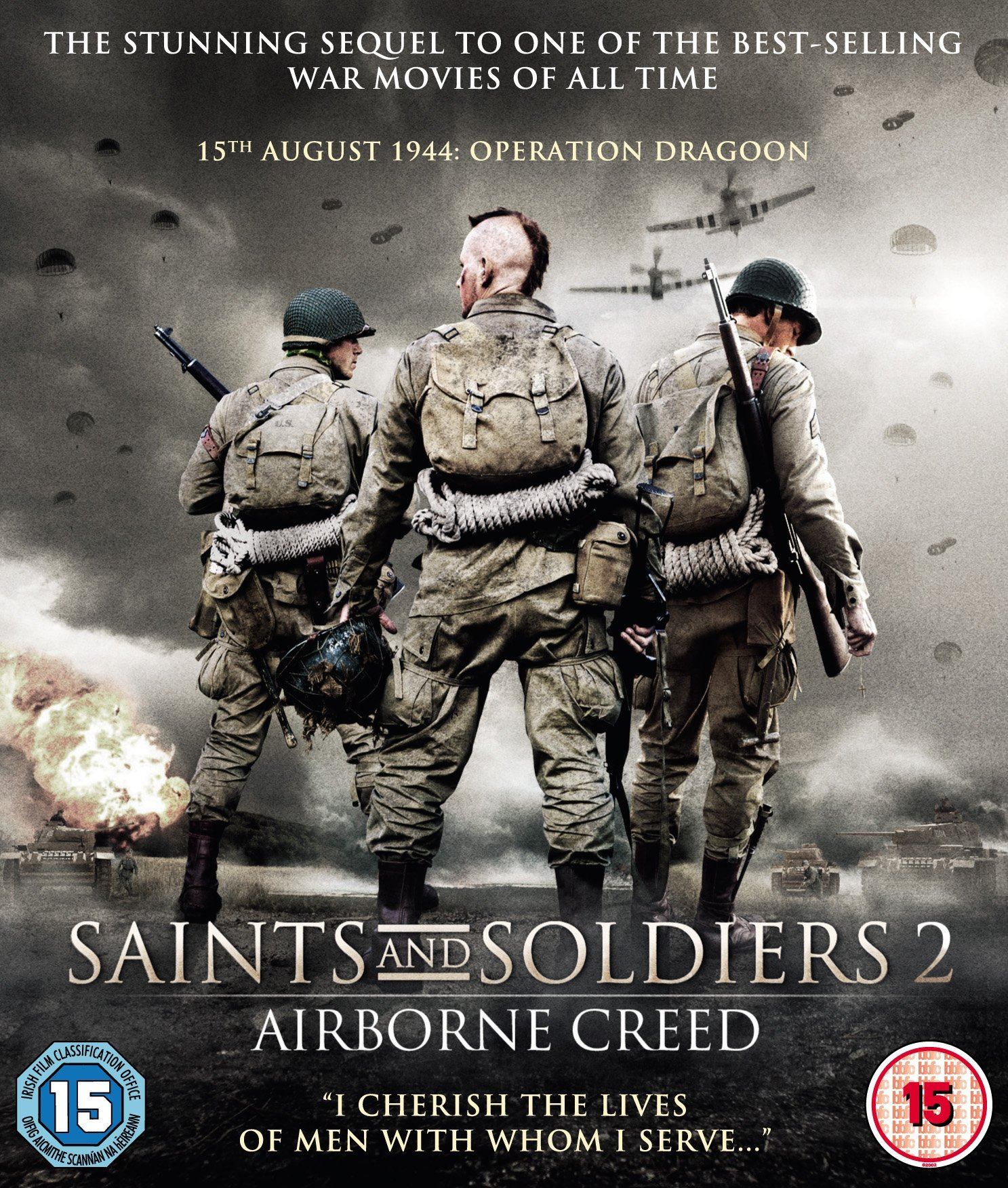 Blu-ray : Saints And Soldiers: Airborne Creed (Blu-ray)