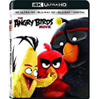 Deals on The Angry Birds Movie Blu-ray + DVD + Digital