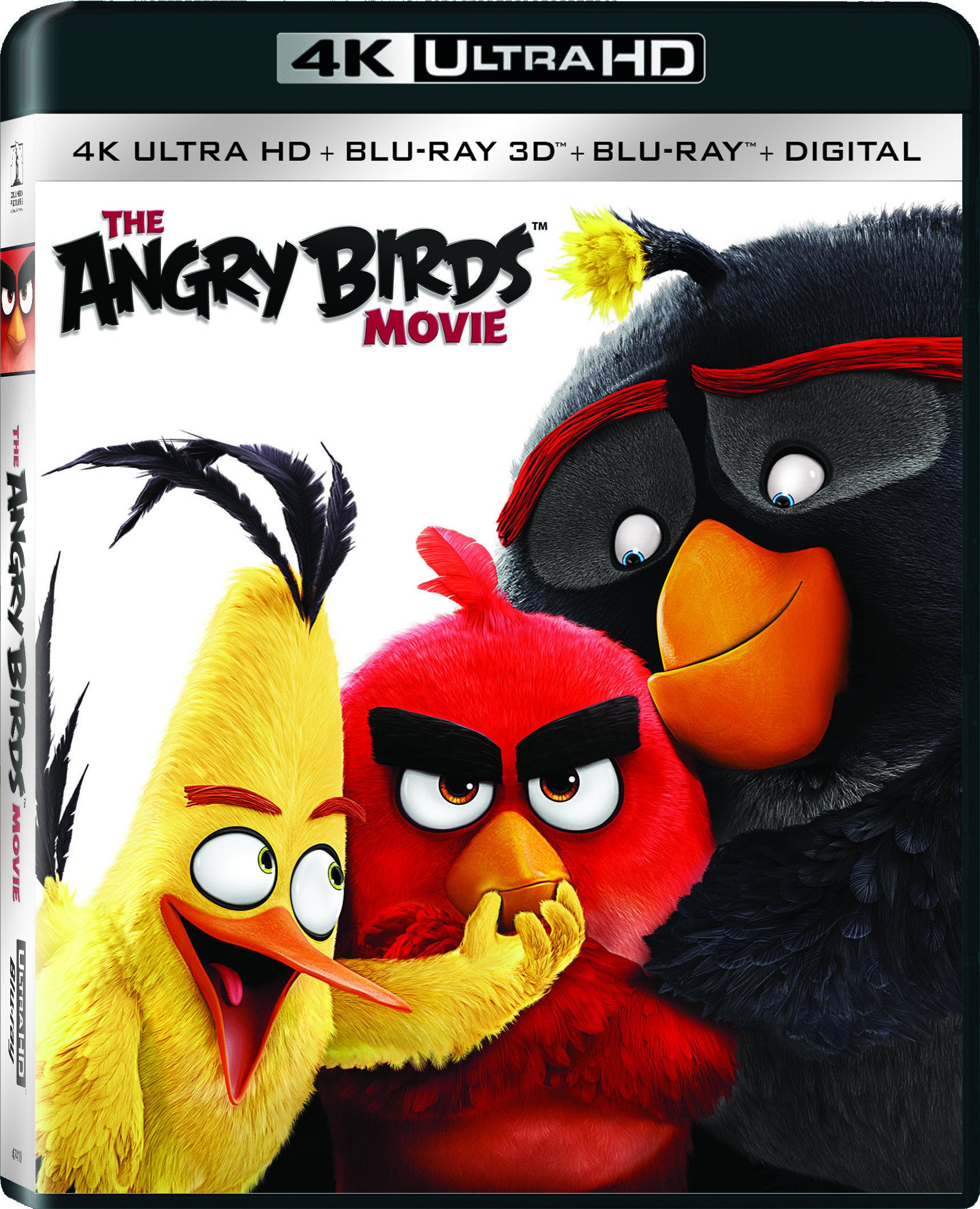 4K Blu-ray : The Angry Birds Movie (With Blu-Ray, With Blu-Ray 3-D, Ultraviolet Digital Copy, Widescreen, 3 Pack)
