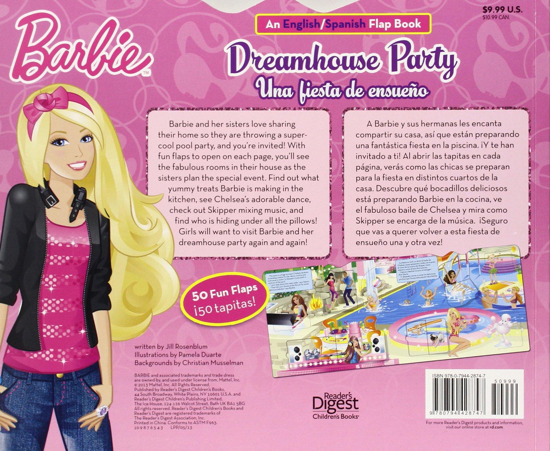Barbie Dreamhouse Party Una Fiesta De Ensueno An English Spanish