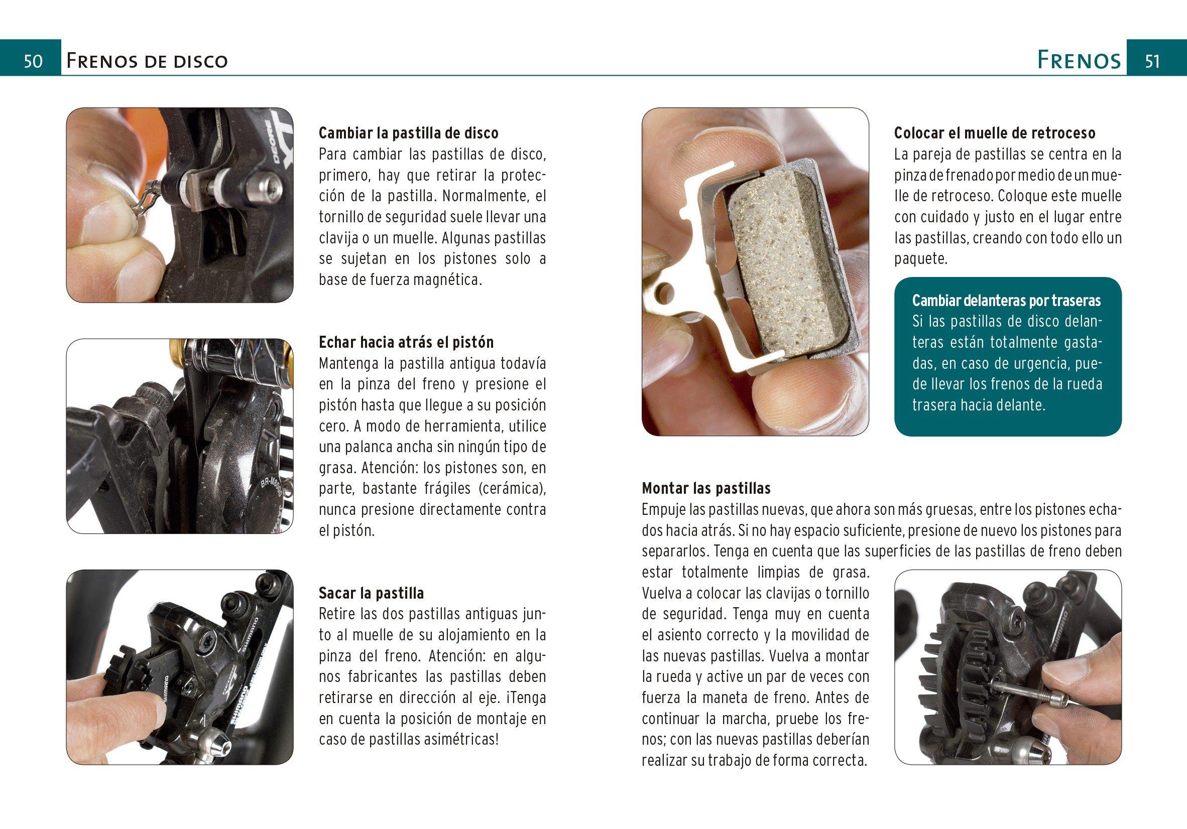 GUIA DE BOLSILLO REPARACIONES EN RUTA MOUNTAIN BIKE: Jochen / Simon, Daniel Donner: 9788416676361: Amazon.com: Books