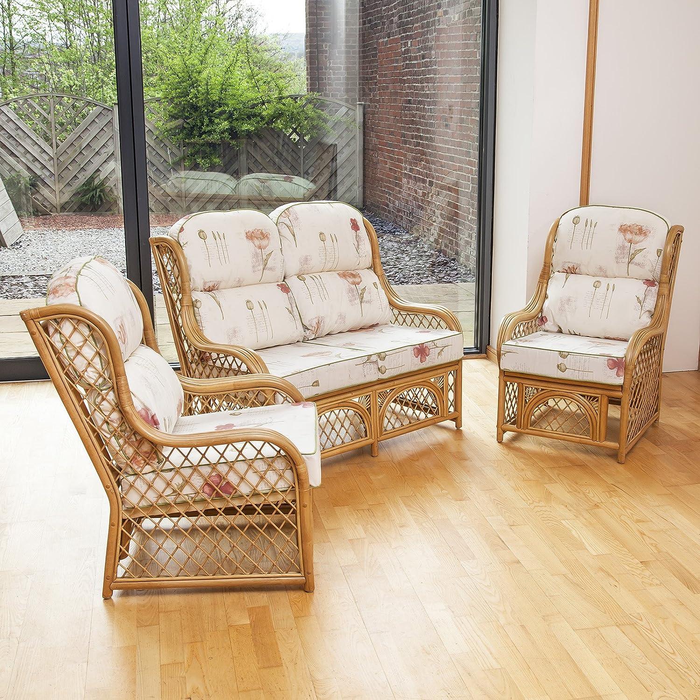 Alfresia Cadiz Cane conservatorio Muebles Suite Set con ...