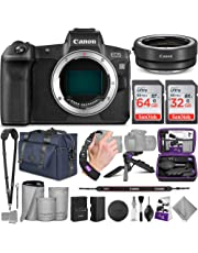 Canon EOS R Mirrorless Digital Camera Body + Canon EF-EOS R Mount Adapter with Altura Photo Complete Accessory and Travel Bundle photo