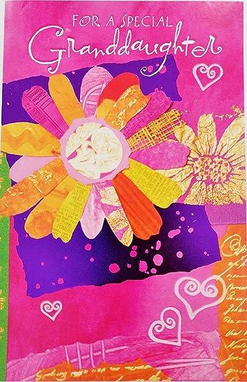 Amazon.com: Para una nieta especial – Feliz cumpleaños ...