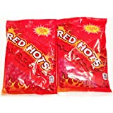 Red Hots Cinnamon Flavored Candy 5.5 ounce (Pack of 2)