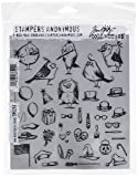 Stampers Anonymous CMS250 Mini Bird Crazy & Things