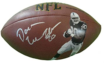 b7274c865 Oakland Raiders Darren McFadden Autographed Hand Signed NFL Photo Football  with Proof Photo of Signing