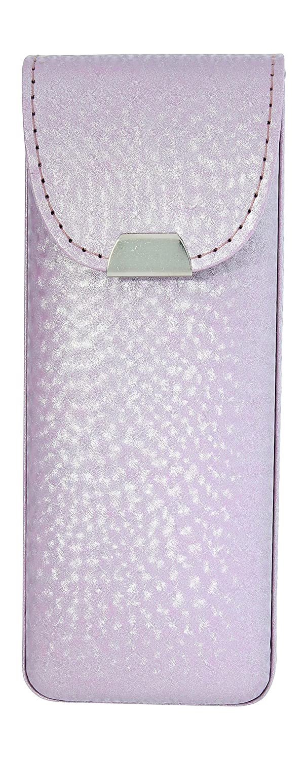 Vinyl Eyeglass Case Top Closure Pearly Shades Of Blue Brass Green Lilac Pink 9000-107-PBL