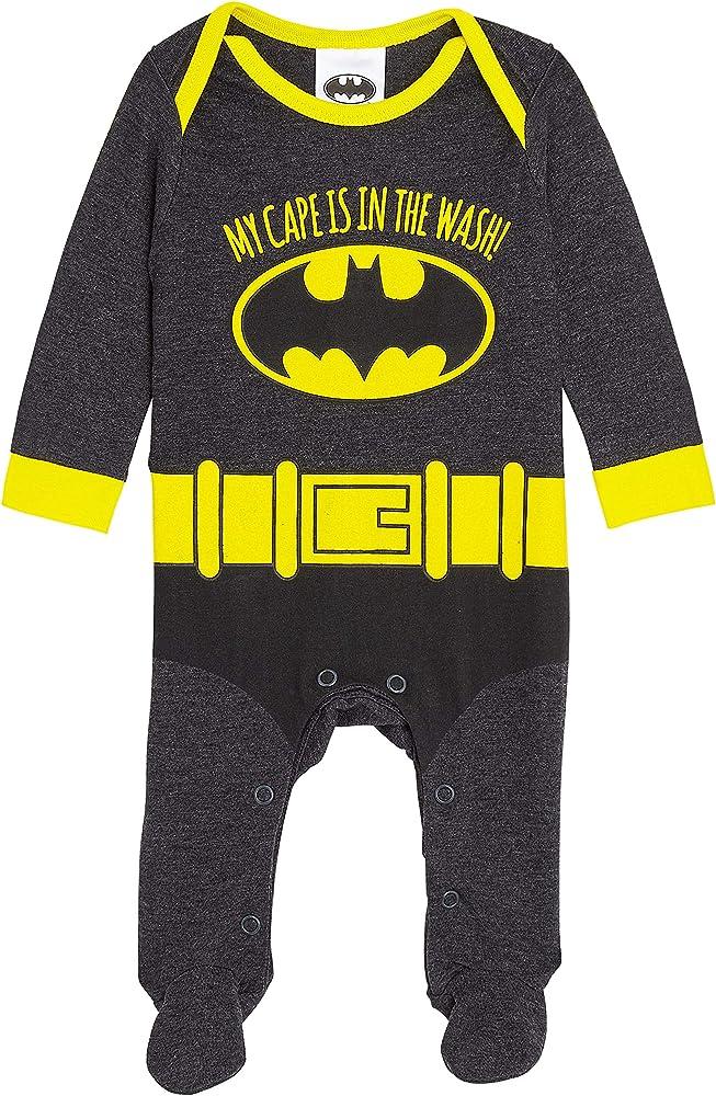 DC Comics Batman Disfraz Bebe Niño, 100% Algodon Ropa Bebe Niño ...