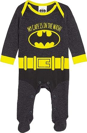 DC Comics Batman Disfraz Bebe Niño, Ropa Bebe Niño, Pijama Disfraz ...