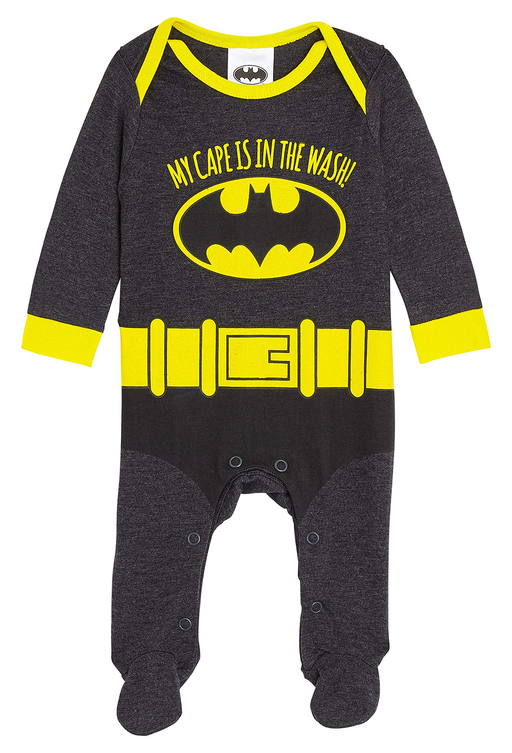 Disney The Incredibles Baby Grows Superhero Costume Boys Pyjamas Baby Gifts from Newborn up to 18 Months 100/% Cotton Baby Clothes Footed Sleepsuit for Baby Boy