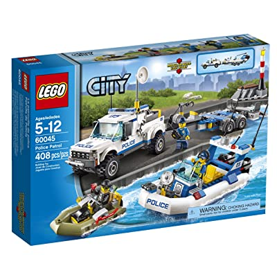 LEGO City Police 60045 Police Patrol: Toys & Games