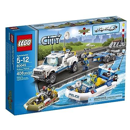 Amazoncom Lego City Police 60045 Police Patrol Toys Games