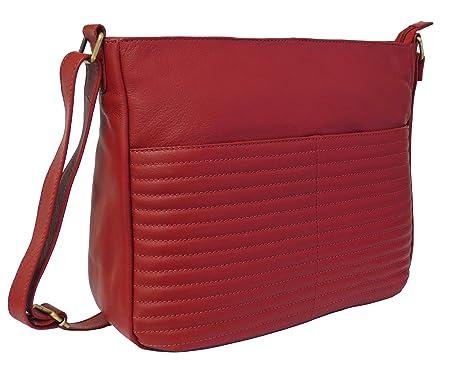 a80c54d65e Image Unavailable. Image not available for. Colour  Rowallan Women s  Leather Shoulder Bag ...