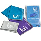 Cooling Towel - Perfect Tool To Stay Cool, Keeps Your Body Cool - Cool Towel for Neck - Great for All Activities - Use As Gym, Yoga & Golf Towel - Drys Soft