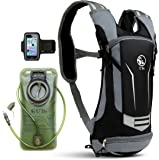 U`Be Hydration Pack - Hydration Backpack - Camel Pack Water Backpack with Insulated 2l Bladder for Women Men Kids Backpacking - Small Lightweight Water Reservoir for Running Hiking Cycling