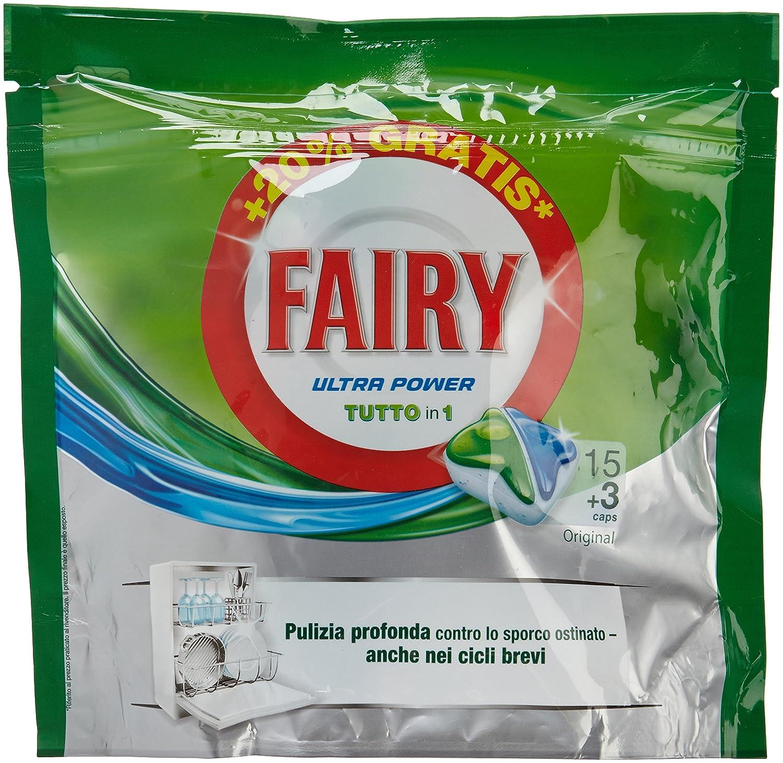 Fairy - Ultra Power - Cápsulas para lavavajillas - 18 ...