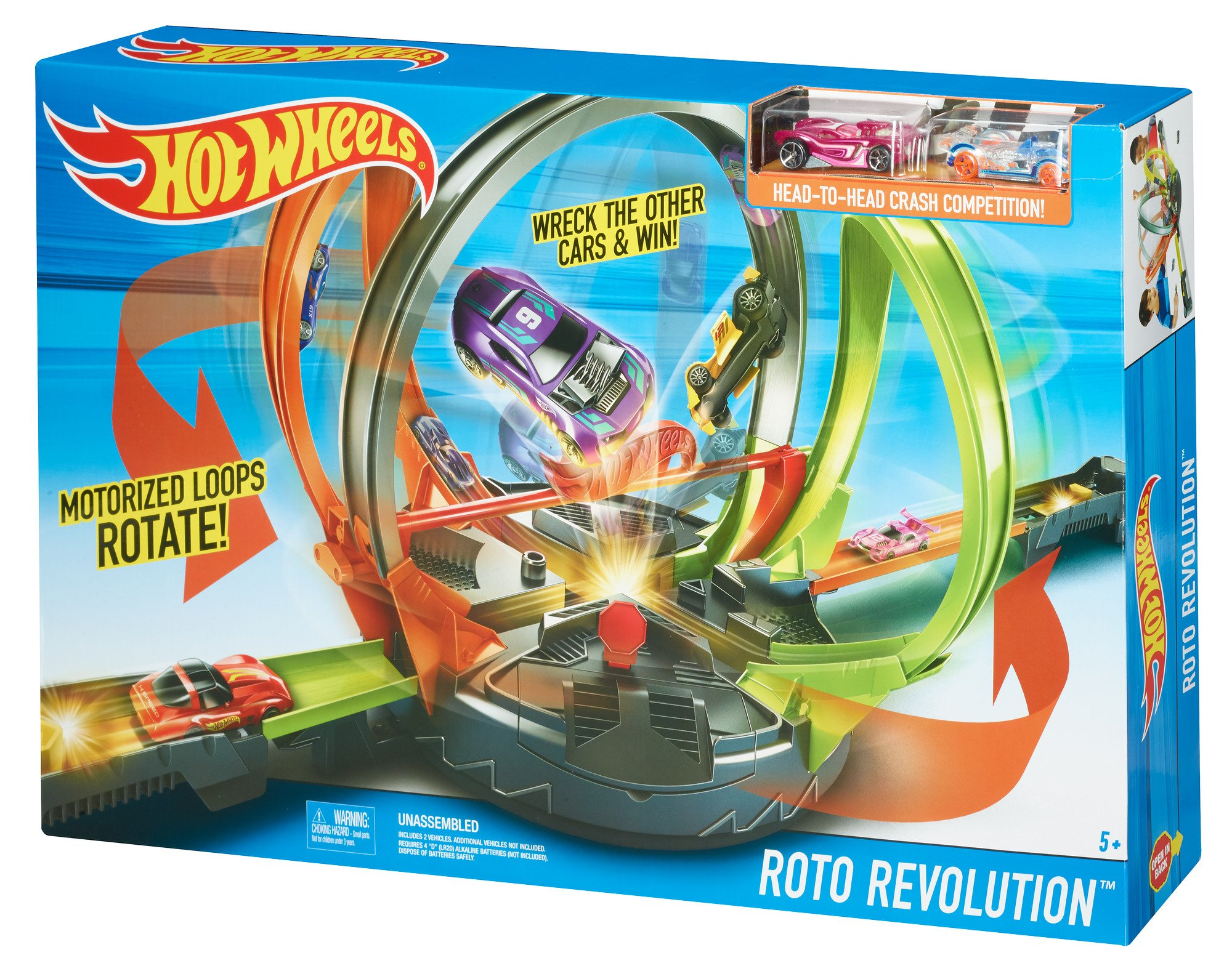 Hot Wheels Roto Revolution Track Playset by Hot Wheels (Image #17)