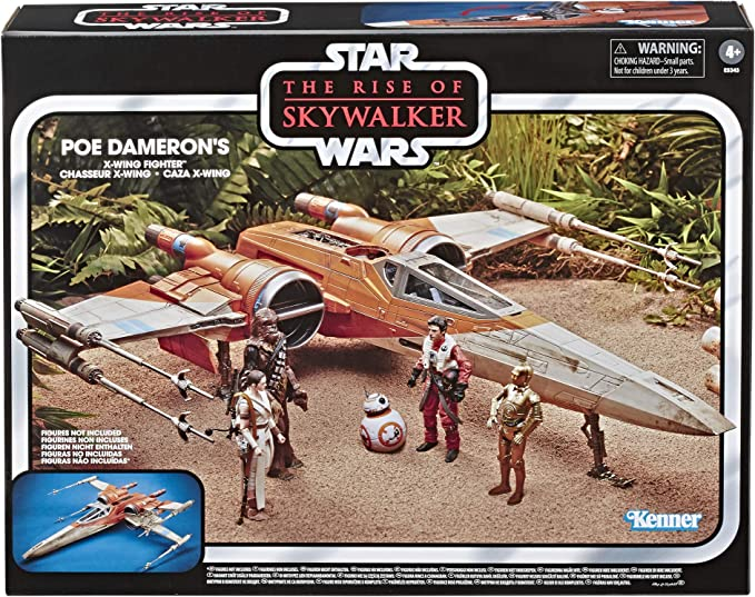 2019 Hasbro Star Wars Vintage Collection Luke Skywalker/'s X-Wing Fighter New