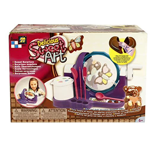 Amav Toys Delicious Sweet Art Chocolate Making Kit Make Your Own Chocolate Candy With Friends Siblings Safe Easy To Use For Kids Aged 8