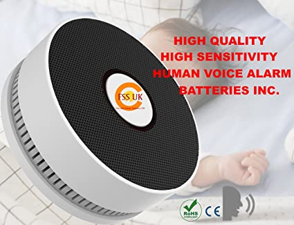 FSS UK alta calidad humana voz alarma contra incendios ...