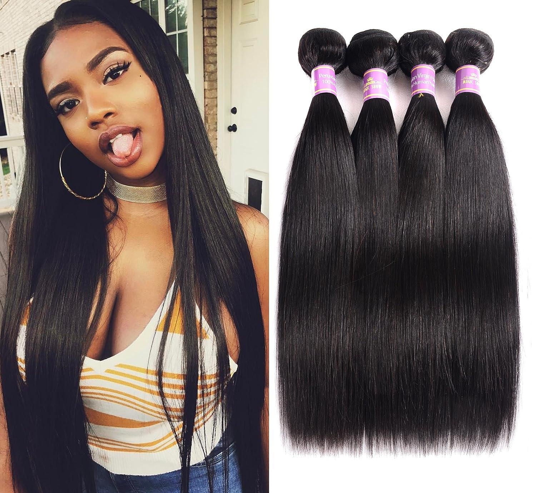 """Magic Show 7A Peruvian Virgin Hair Straight 4pcs/lot 18"""" 20"""" 22"""" 24"""" Peruvian Straight Hair 100% Unprocessed Human Hair Weave Peruvian Hair Weave Bundle"""