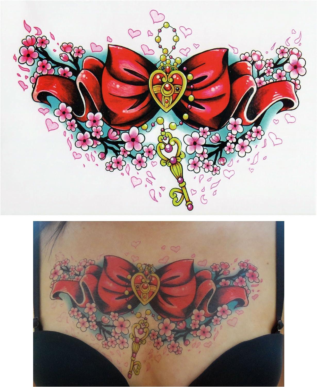 Tatuajes temporales Tempo rary Tattoo Fake Tattoo – Lazo de llaves ...