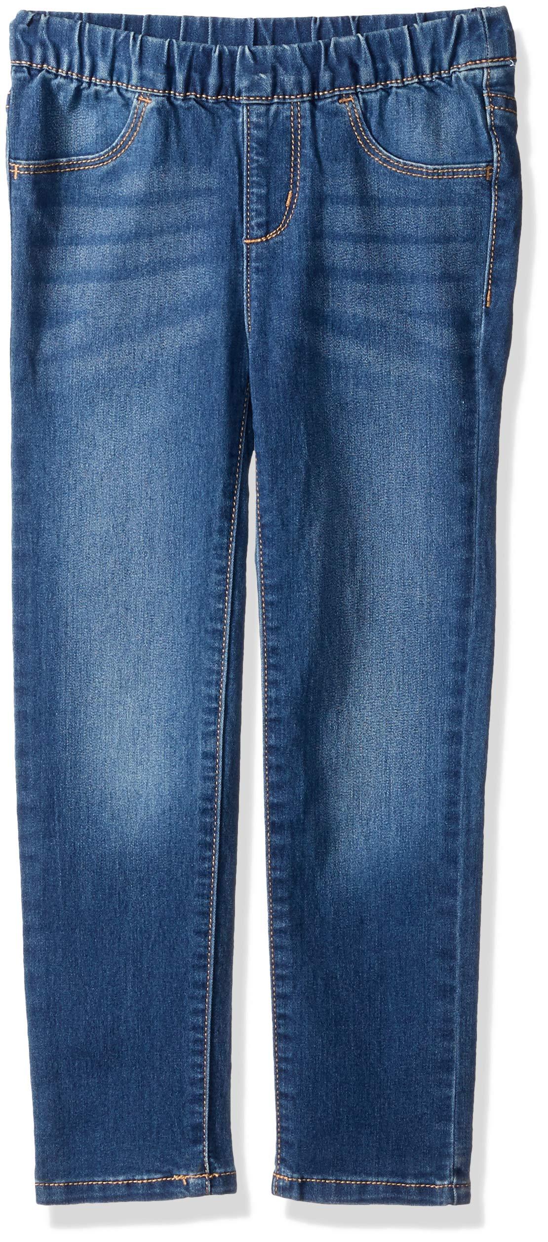 Crazy 8 Toddler Girls' Basic Jegging Pants, Medium Wash Denim, 5T
