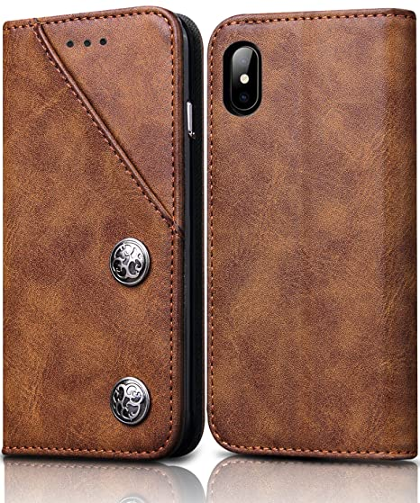 Giveaway iphone xs case leather card holder