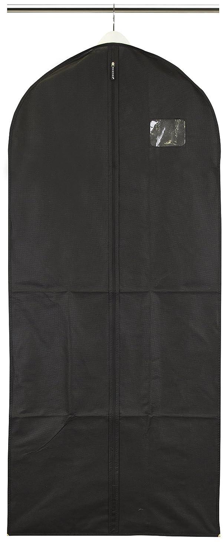 Kleidersack für Mäntel und Kleider–atmungsaktiv–Schwarz Pristine