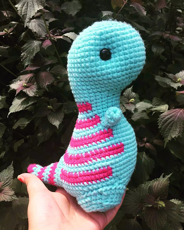 Dinosaur doll Dinosaur amigurumi toys Crochet Dinosaur nursery decor Handmade Dinosaur gift Cute T Rex Dinosaur Amigurumi