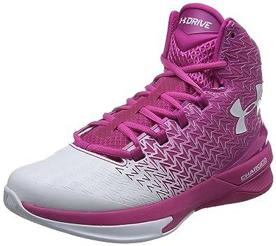 Under Armour Men\\u0027s UA Clutchfit Drive 3 Tropic Pink/White/White Sneaker