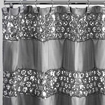 Amazon Royal Bath Bedazzled Bling Fabric Shower Curtain 70 X 72 Home Kitchen
