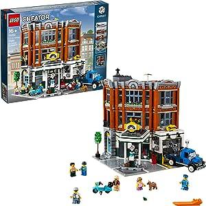 LEGO Creator Expert - Taller de la Esquina, Juguete de Maqueta de Edificio para Construir con Vehículos y Minifiguras (10264) , color/modelo surtido: Amazon.es: Juguetes y juegos