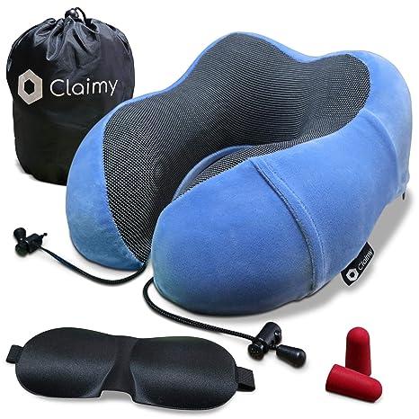 Cuscino da viaggio Cuscino Cervicale da Viaggio,Neck Support Poggiatesta Cuscino perfetto per aereo auto home Ufficio use