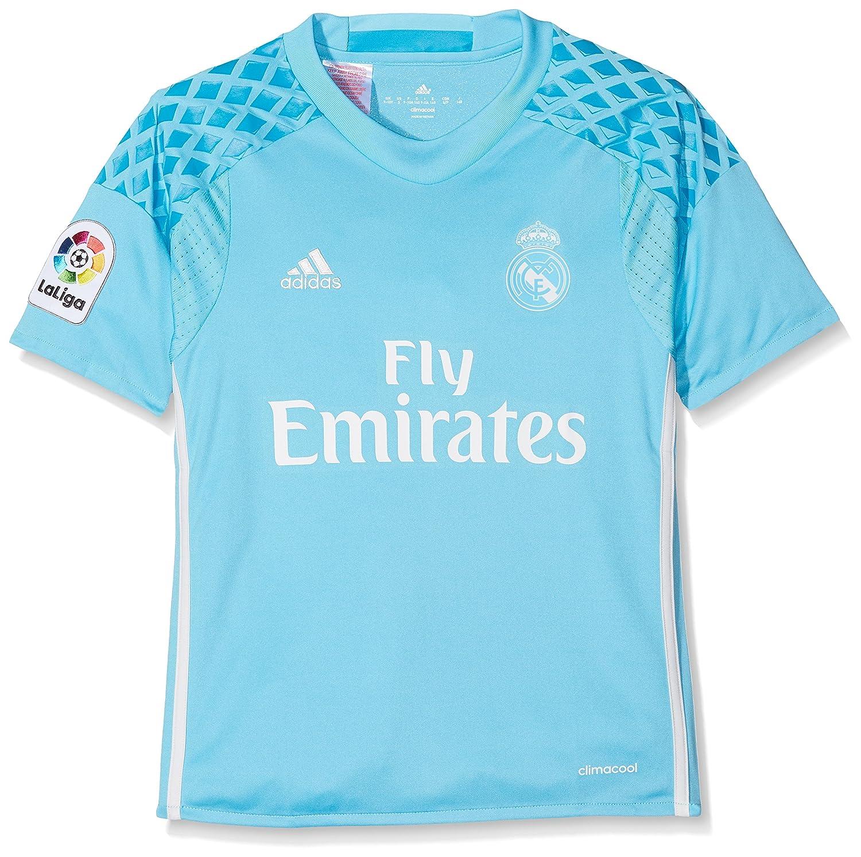 Adidas Kinder Real Madrid Replica Torwart-heimtrikot Torwarttrikot