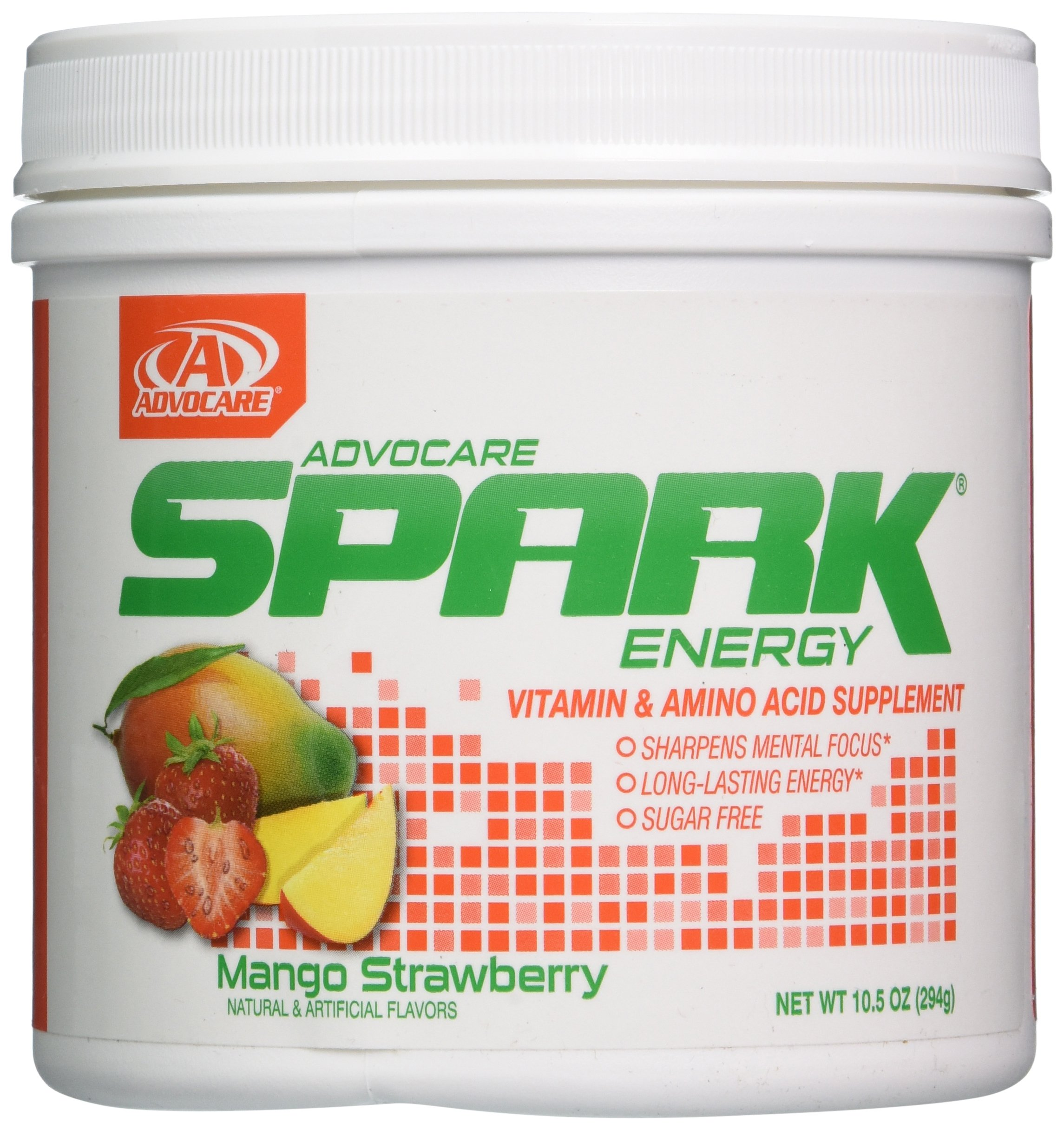 AdvoCare Spark Energy Drink (Mango Strawberry), 10.5 Ounce by AdvoCare