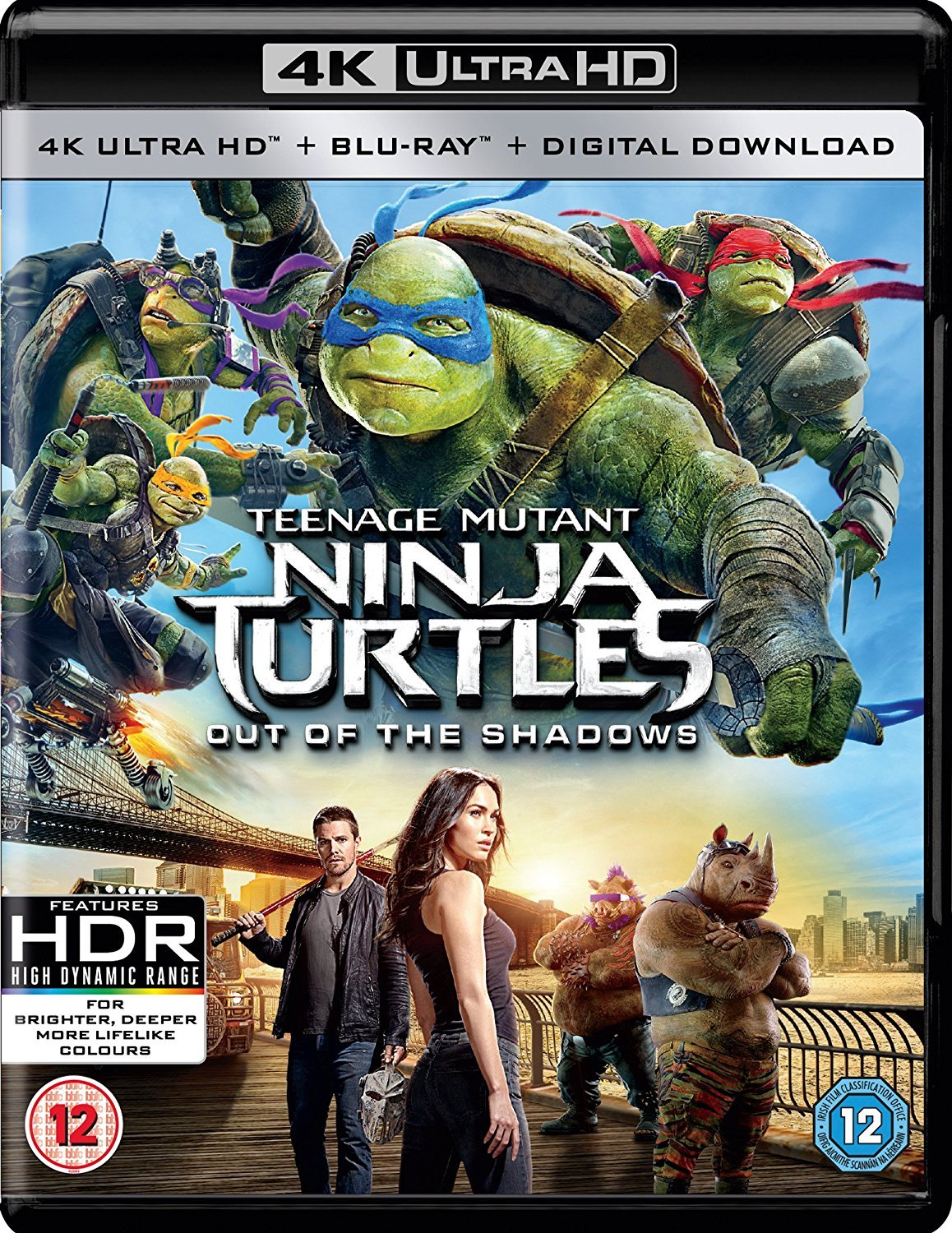 Tmnt Out Of The Shadows 2D3D Bd+Uhd+Uv Redtag Version Uhd ...