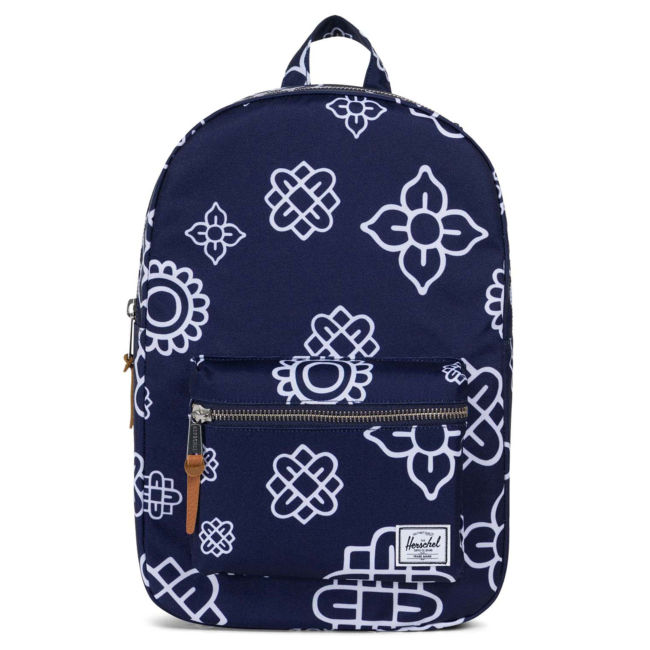 Herschel Supply Co. Settlement Mid-Volume Backpack, Peacoat Paisley