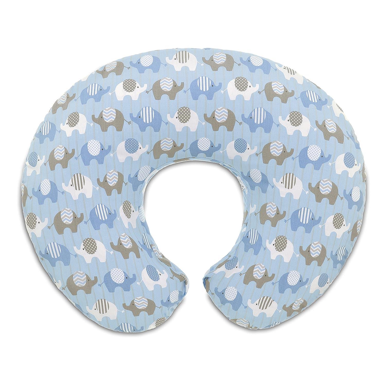 elephants blue Boppy 8079904380000 Stillkissenbezug Baumwolle