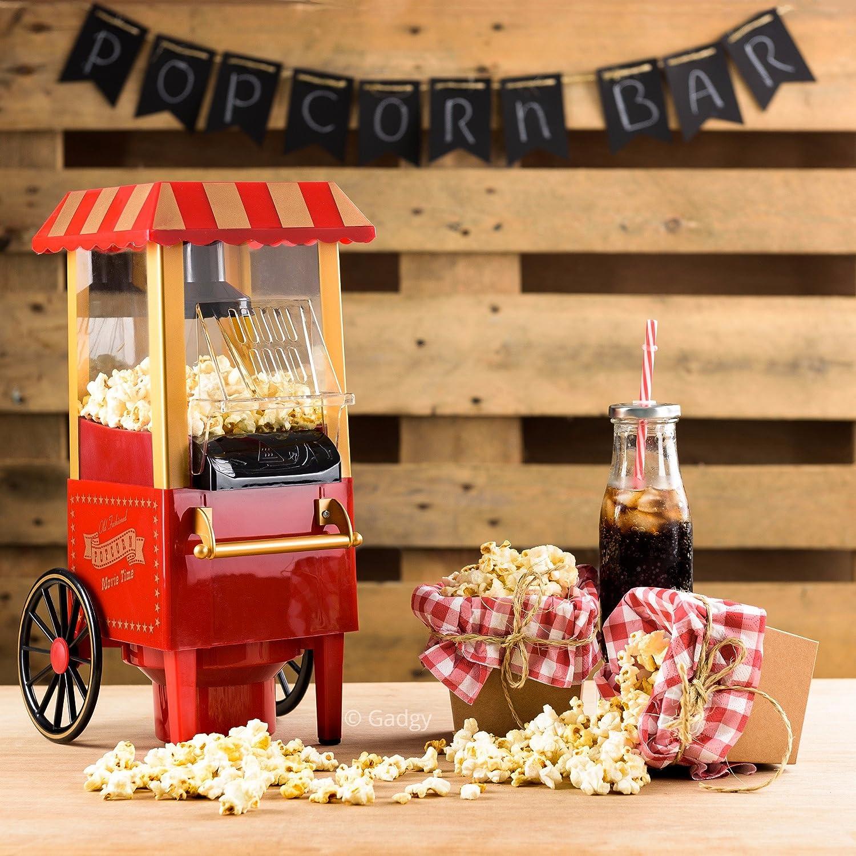 Retro-Popcorn-Maschine-Kinopopcorn