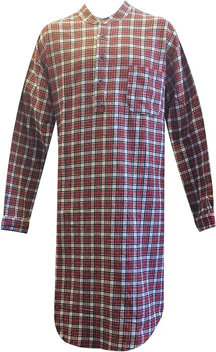 c49929b499 Lee Valley Genuine Irish Flannel Nightshirt