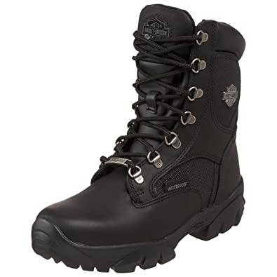 Harley-Davidson Women's Hennie Waterproof Motorcycle Boot,Black,5 ...