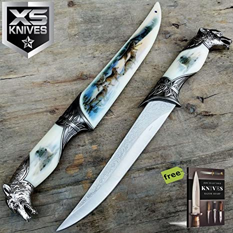 Amazon.com: SURVIVAL STEEL - Lote de cuchillos de 13 ...