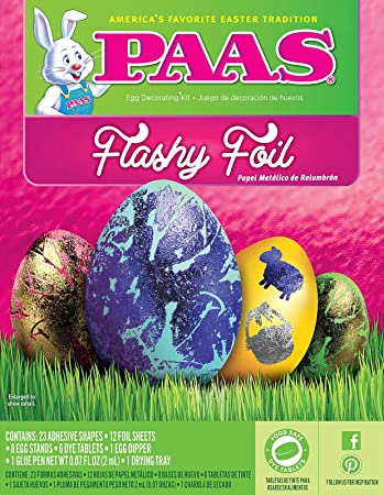 PAAS Flashy Foil Easter Egg Dye Kit