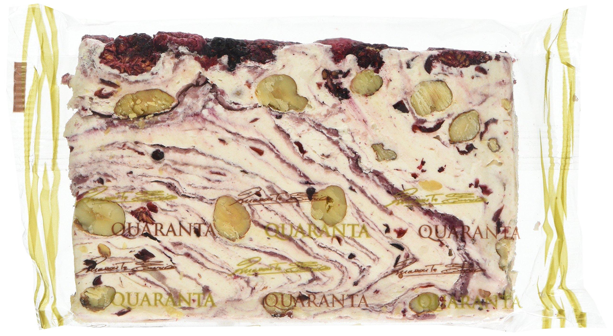 Quaranta Berry Crème Soft Nougat Cake Sliced Full Wrap 150 g