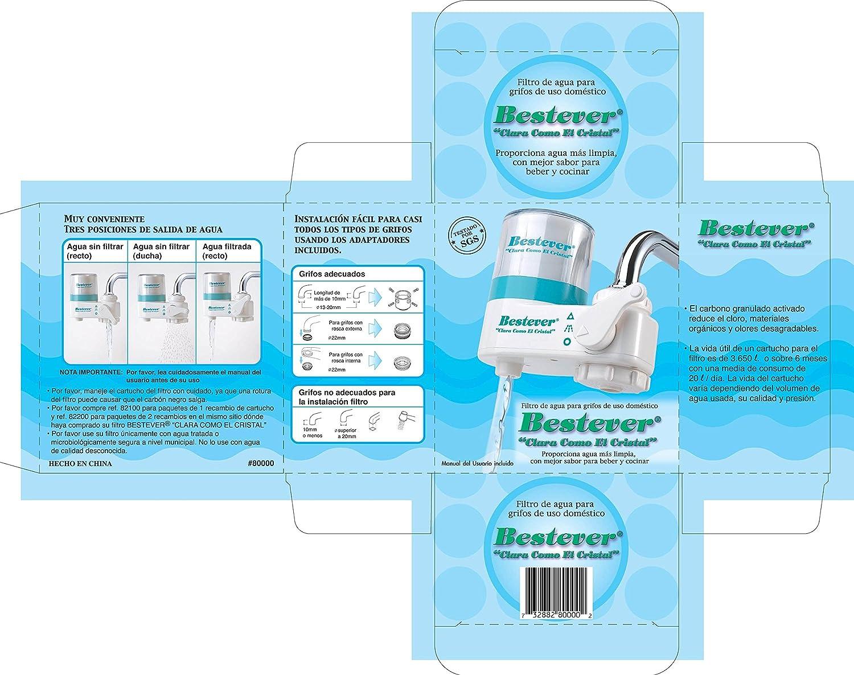 Bestever Filtro purificador agua: Amazon.es: Hogar