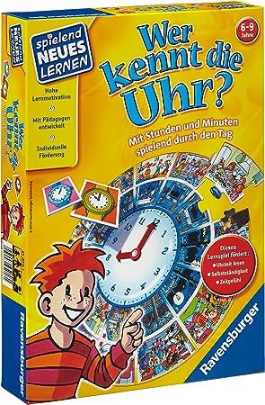 Ravensburger 250561 Niños Juego de Mesa de Aprendizaje - Juego de ...