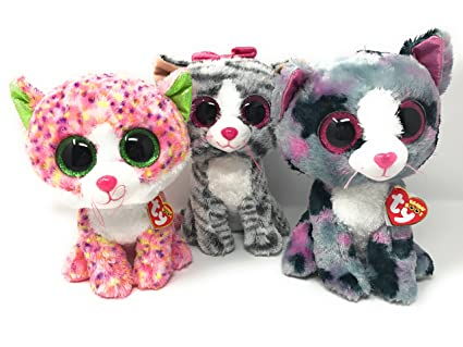 Image Unavailable. Image not available for. Color  BEANIE BOOS TY Pretty  Kitty Bundle includes Sophie ... a23f7b01f4a3